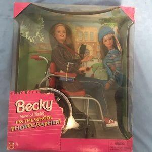 Becky the School Photographer Barbie